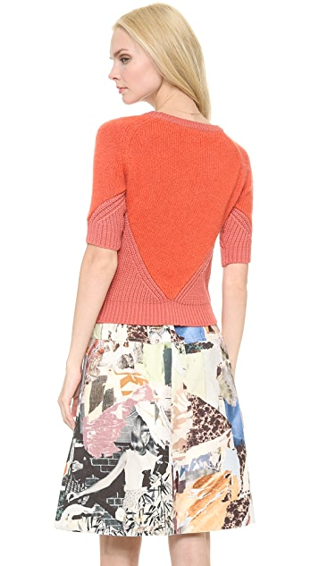Carven Subtle Contrast Sweater