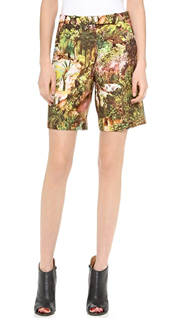 Carven Printed Shorts