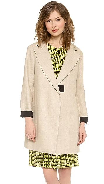 Carven Linen Coat