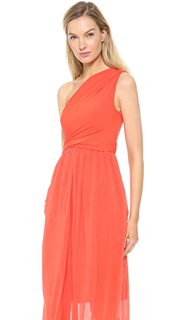 Carven One Shoulder Gown