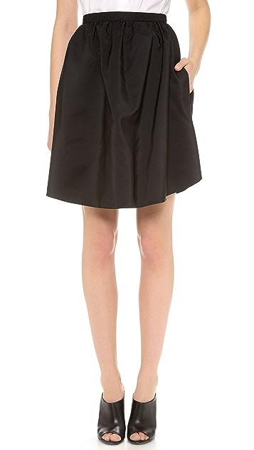 Carven Light Faille Skirt