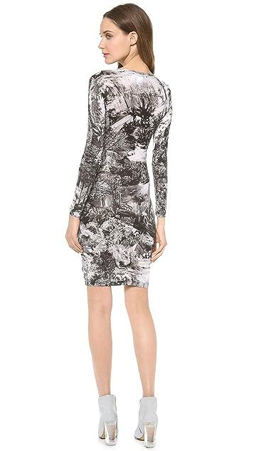 Carven Printed Dress