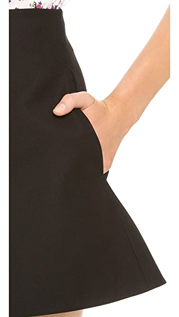 Carven Cotton Shorts