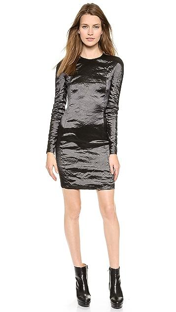Carven Long Sleeve Dress