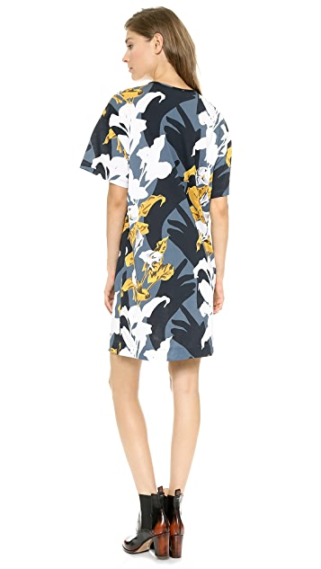 Carven Short Sleeve T-Shirt Dress