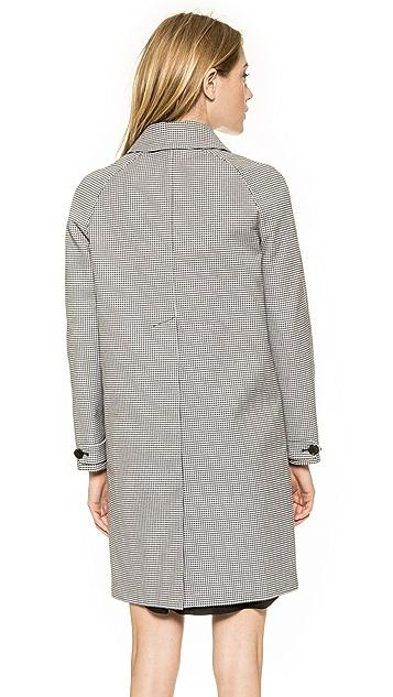 Carven Gingham Coat
