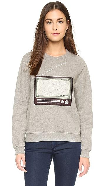 Carven TV Sweatshirt