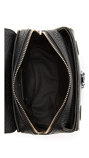 Carven Leather Cross Body Bag