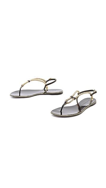 Casadei Flat Sandals