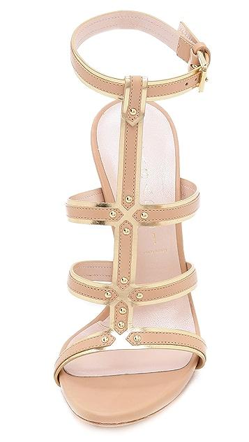 Casadei Gladiator Stiletto Sandals