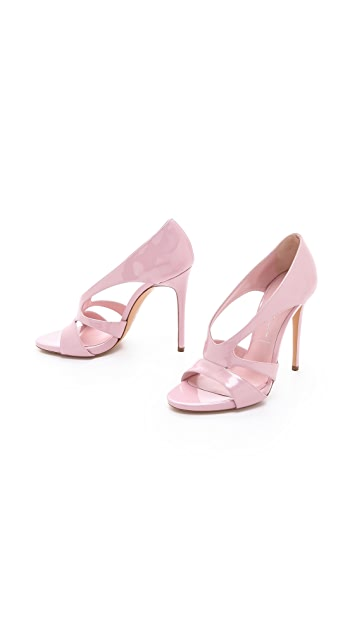 Casadei Patent Leather Sandals