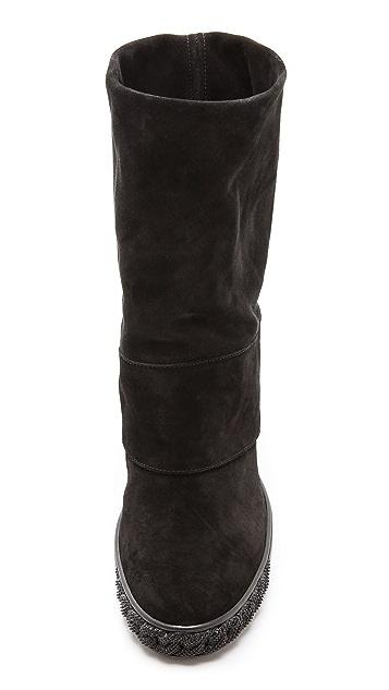 Casadei Renna Suede Boots