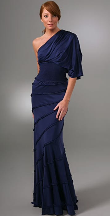 a821ee3d1de Catherine Malandrino Off The Shoulder Long Dress