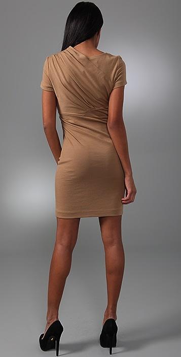 Catherine Malandrino Draped Shoulder Dress