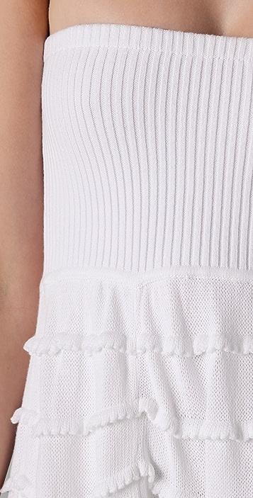 Catherine Malandrino Tiered Knit Dress / Skirt