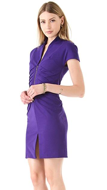 Catherine Malandrino Zip Front Dress