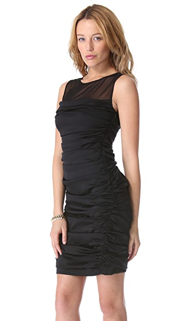 Catherine Malandrino Ruched Tank Dress