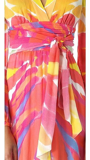 Catherine Malandrino Tie Gown