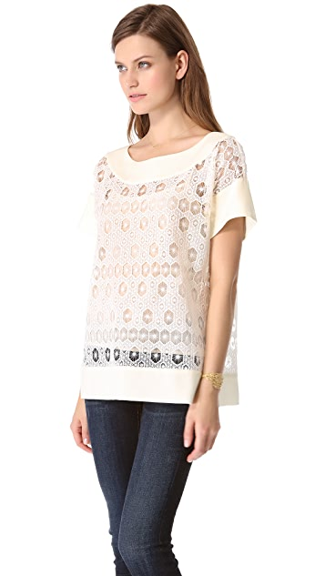 Catherine Malandrino Gerry Lace Blouse