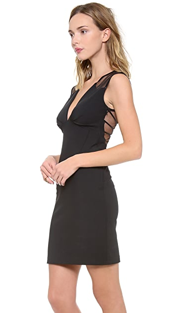 Catherine Malandrino Harlow Deep V Neck Dress