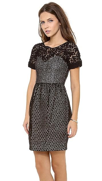Catherine Malandrino Camilla Dress with Bustier Top & Bubble Skirt
