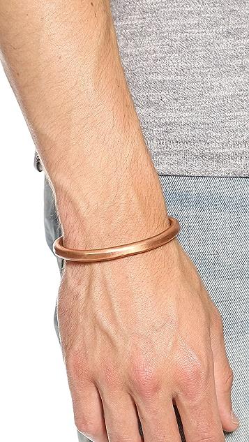 Cause and Effect Copper Cuff