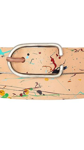 Cause and Effect Paint Splatter Belt