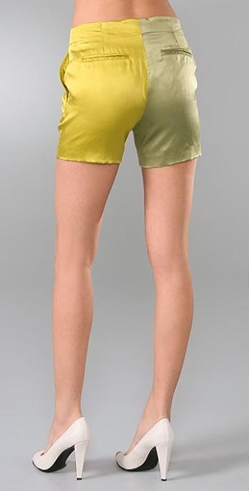 Chris Benz Shorts beige