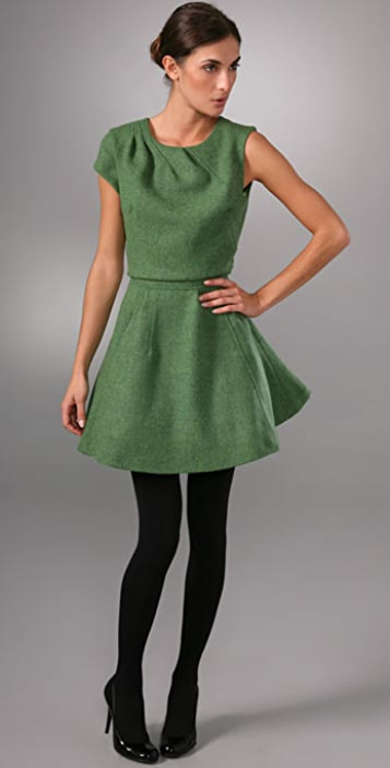 Chris Benz Cutaway 1 Sleeve Dress