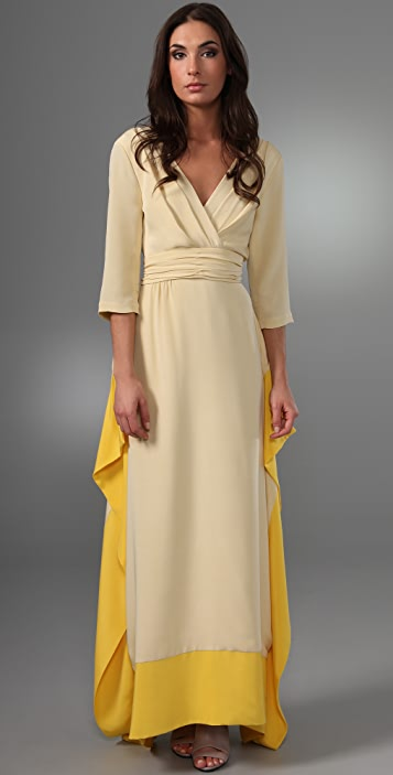 Chris Benz Evelyn Long Dress