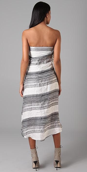 Chris Benz Lilian Strapless Dress