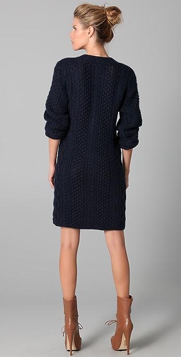 Chris Benz Sweater Dress
