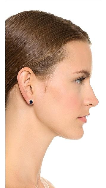 Carolyn Colby Crystal Stud Earrings