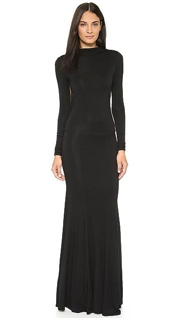 Caroline Constas Victoire Backless Dress