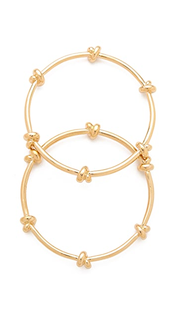 CC SKYE Love Me Knot Bangle Set