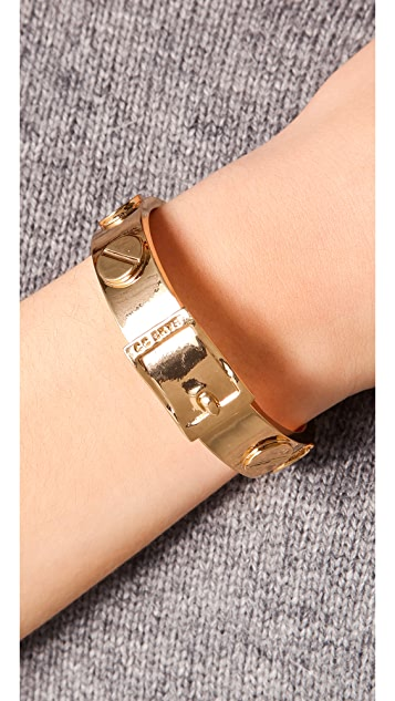 CC SKYE Metal Screw Bracelet