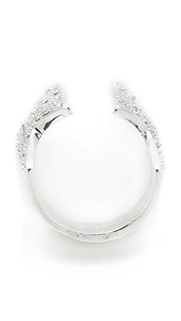 CC SKYE Pave Super Woman Ring