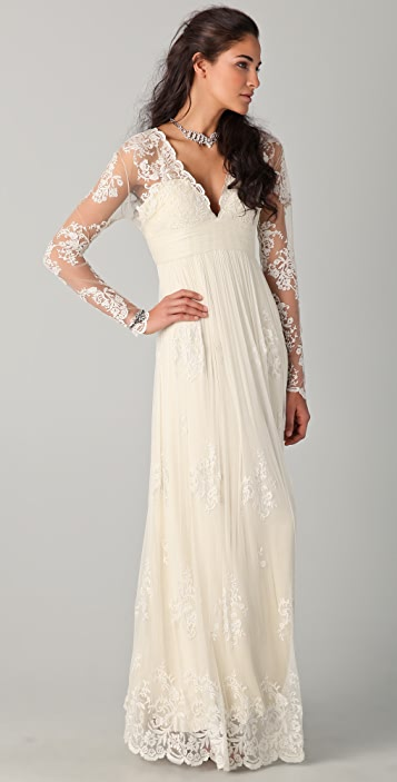 Catherine Deane Lia Lace Gown