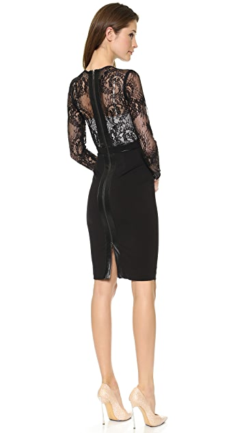 Catherine Deane Vinia Long Sleeve Lace Dress