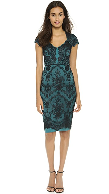 Catherine Deane Bethany Lace Fitted Dress