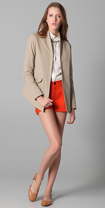 Derek Lam 10 Crosby Shawl Collar Jacket