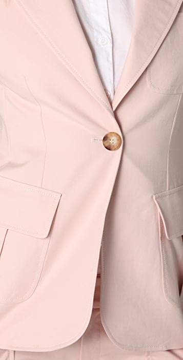 Derek Lam 10 Crosby One Button Blazer
