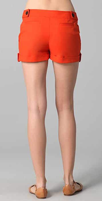 Derek Lam 10 Crosby Cuffed Shorts