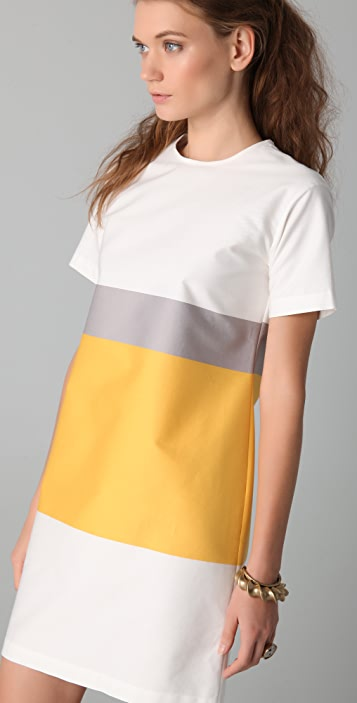 Derek Lam 10 Crosby Short Sleeve Tunic Dress