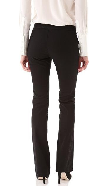 Derek Lam 10 Crosby Seamed Lattice Print Pants