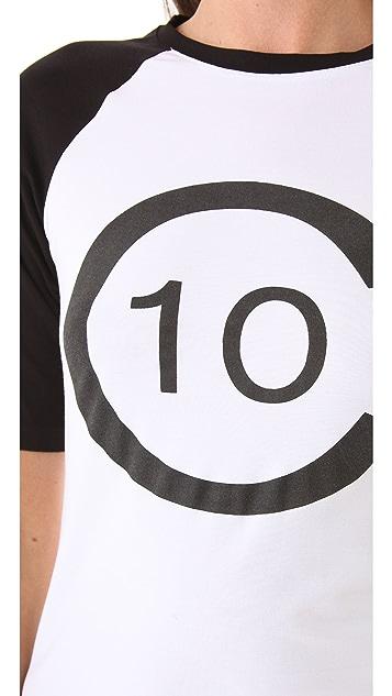 Derek Lam 10 Crosby Logo Tee