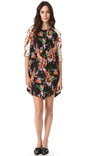 Derek Lam 10 Crosby Floral Tunic Dress