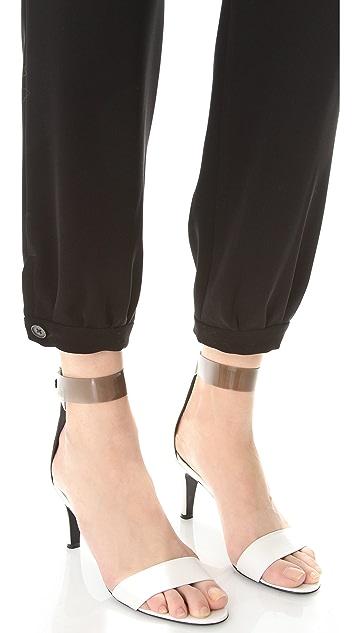 Derek Lam 10 Crosby Cinched Ankle Pants