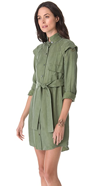 Derek Lam 10 Crosby Belted Shirtdress