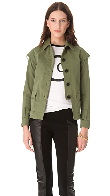 Derek Lam 10 Crosby Drop Shoulder Jacket
